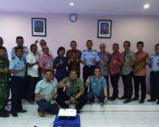 Pertemuan ATSI dengan Komandan Pangkalan TNI AU El Tari Kupang