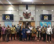 ATSI menghadiri RDPU dengan Komisi I DPR RI